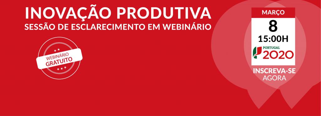 Slide - Webinario Inovação Produtiva
